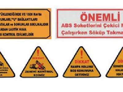 TRAILER WARNING LABELS